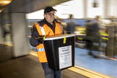 Ballot boxes arriving, vote counting, Bristol - Paul Box - 2010s,2019,arrival,arrivals,arrive,arrives,arriving,ballot,Ballot Box,Ballot Box boxes,BALLOTING,ballots,box,boxes,cities,City,count,counting,DEMOCRACY,ELECTION,elections,General Election,people,POL,p