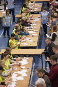 Vote counting, Bristol - Paul Box - 2010s,2019,ballot,ballot paper,ballot papers,BALLOTING,ballots,cities,City,count,counting,DEMOCRACY,ELECTION,elections,General Election,people,POL,political,POLITICIAN,POLITICIANS,Politics,Urban,Vote,