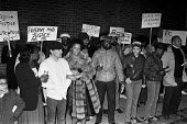 Protest at police harassment, The Mangrove Club, Notting Hill, London 1981 - NLA - 30-12-1981