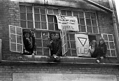 School pupils occupy their school against closure, London 1974 - NLA - 1970s,1974,activist,activists,against,BAME,BAMEs,Black,Black and White,BME,bmes,CAMPAIGNING,CAMPAIGNS,child,CHILDHOOD,children,cities,City,CLOSED,closing,closure,closures,Comprehensive School,DEMONSTR