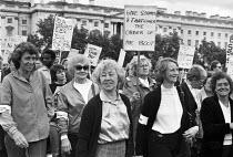 Civil servants pay dispute, women protest, Whitehall, London 1981 - NLA - 1980s,1981,activist,activists,against,CAMPAIGNING,CAMPAIGNS,CCSU,Civil servants,CPSA,DEMONSTRATION,dispute,disputes,FEMALE,Industrial dispute,London,paid,pay,people,person,persons,placard,placards,pro