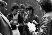 Bill Wyman, Rolling Stones and autograph hunters, Sotheby's sale, London 1982 - Ray Rising - 22-12-1982