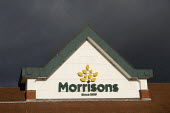 Morrisons supermarket, Stratford upon Avon, Warwickshire - John Harris - 2020,2020s,bought,building,buildings,buying,consumer,consumers,customer,customers,EBF,Economic,Economy,male,man,men,Morrisons,outlet,outlets,pedestrian,pedestrians,people,person,persons,PURCHASES,PURC