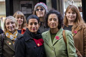 Samira Ahmed BBC presenter and NUJ member with supporters outside her equal pay employment tribunal, Victory House, London - Jess Hurd - BBC,bigotry,CLJ,DISCRIMINATION,employee,employees,employment,employment tribunal,equal,equal pay,Equal Rights,equality,FEMALE,House,houses,INEQUALITY,job,jobs,law,LBR,London,London.,Male Chauvinism,me
