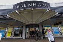 Debenhams store closing down sale, Fort Shopping Centre, Birmingham