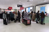 Debenhams store closing down sale, last day, The Fort Shopping Centre, Birmingham - John Harris - 2020,2020s,BAME,BAMEs,Birmingham,Black,BME,bmes,bought,buy,buyer,buyers,buying,clearance,CLEARENCE,clearing,close,closed,closing,closure,closures,consumer,consumers,customer,customers,diversity,DOWNTU