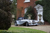 Silver Marlin sports car, country house, Warwickshire - John Harris - 11-01-2020