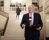 Boris Johnson speaking Stormont Parliament Buildings, restoration of the Northern Ireland Assembly - Conor Kinahan - 13-01-2020