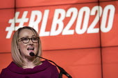 Rebecca Long-Bailey launching her Labour Party leadership campaign, The Science and Industry Museum, Manchester - Paul Herrmann - 17-01-2020