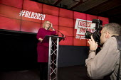 Rebecca Long-Bailey launching her Labour Party leadership campaign, The Science and Industry Museum, Manchester - Paul Herrmann - 2020,2020s,camera,cameras,campaign,campaigning,CAMPAIGNS,candidate,candidates,employee,employees,Employment,FEMALE,job,jobs,Labour Party,launch,launching,LBR,Manchester,media,MP,MPs,Museum,MUSEUMS,Par