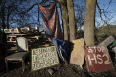 Stop HS2 protest camp against the destruction of 108 ancient woodlands, Colne Valley, Uxbridge - Jess Hurd - 18-01-2020