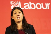 Lisa Nandy, Labour Leadership Hustings, hosted by Co-coperative Party, Business Design Centre, North London. - Jess Hurd - 16-02-2020