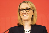 Rebecca Long Bailey, Labour Leadership Hustings, hosted by Co-coperative Party, Business Design Centre, North London. - Jess Hurd - 16-02-2020