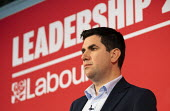 Richard Burgon speaking Labour Deputy Leadership Hustings, hosted by Co-coperative Party, Business Design Centre, North London. - Jess Hurd - 16-02-2020