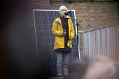 Greta Thunberg speaking, Bristol Youth Strike 4 Climate protest - Paul Box - 2020,2020s,activist,activists,adolescence,adolescent,adolescents,against,CAMPAIGNING,CAMPAIGNS,Climate Change,DEMONSTRATING,Demonstration,environment,environmental,Extinction Rebellion,female,females,