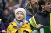 Greta Thunberg leading Bristol Youth Strike 4 Climate protest - Paul Box - 28-02-2020