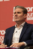 Keir Starmer speaking Labour Leader Hustings, Dudley - John Harris - 2020,2020s,debate,debating,DEMOCRACY,Dudley,election,elections,husting,hustings,Keir Starmer,Labour Party,Leader,leadership,male,man,men,MP,MPs,people,person,persons,POL,political,politician,politicia