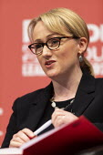 Rebecca Long-Bailey speaking Labour Leader Hustings, Dudley - John Harris - 08-03-2020