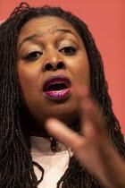 Dawn Butler speaking Labour Deputy Leader Hustings, Dudley - John Harris - 2020,2020s,BAME,BAMEs,Black,BME,bmes,Dawn,Dawn Butler,debate,debating,DEMOCRACY,diversity,Dudley,election,elections,ethnic,ethnicity,FEMALE,husting,hustings,Labour Party,Leader,leadership,minorities,m