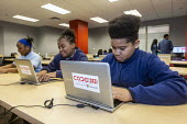 Detroit, USA, free workshop on computer coding and other technology based subjects, including virtual reality. Code313, a nonprofit program for Detroit youth aged 7-17 - Jim West - 05-03-2020
