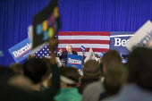 Detroit, Michigan, USA, Bernie Sanders presidential campaign rally - Jim West - 2020,2020 election,2020s,America,american,americans,Bernie,Bernie Sanders,campaign,campaigning,CAMPAIGNS,candidate,candidates,democracy,Democrat,Democratic Party,Democratic primary,Democrats,Detroit,e