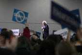 Detroit, Michigan, USA, Bernie Sanders presidential campaign rally - Jim West - 2020,2020 election,2020s,America,Bernie,Bernie Sanders,campaign,campaigning,CAMPAIGNS,candidate,candidates,democracy,Democrat,Democratic Party,Democratic primary,Democrats,Detroit,election,elections,g