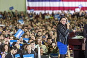 Detroit, Michigan USA, Rashida Tlaib speaking, Bernie Sanders presidential campaign rally - Jim West - 2020,2020 election,2020s,America,american,americans,BAME,BAMEs,Bernie Sanders,Black,BME,bmes,campaign,campaigning,CAMPAIGNS,candidate,CANDIDATES,congresswoman,democracy,Democrat,Democratic Party,Democ