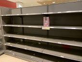 Only Quail Eggs left after panic buying, Waitrose, Canary Wharf, London - Jess Hurd - 2020,2020s,bought,buy,buyer,buyers,buying,commodities,commodity,consumer,consumers,contagion,contagious,Coronavirus,COVID-19,crisis,customer,customers,EBF,Economic,Economy,empty,empty shelves,emptying