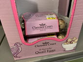 Only Quail Eggs left after panic buying, Waitrose, Canary Wharf, London - Jess Hurd - 16-02-2020