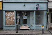Derelict and deserted shop,Richmond, London - Duncan Phillips - 2020,2020s,cities,City,close,closed,closing,closure,closures,EBF,Economic,Economy,excluded,exclusion,HARDSHIP,homeless,homelessness,impoverished,impoverishment,INEQUALITY,London,Marginalised,outlet,ou