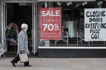 Closed high street shop, Richmond, London - Duncan Phillips - 20-03-2020