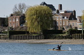 Coronavirus pandemic, Ultimate self isolating by Kayaking, River Thames, London - Duncan Phillips - 2020,2020s,activities,boat,boats,cities,City,coronavirus,covid-19,crisis,disease,DISEASES,epidemic,exercise,exercises,exercising,hobbies,hobby,hobbyist,Kayak,Kayaking,Kayaks,Leisure,LFL,LIFE,lockdown,