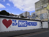 Love Our NHS Heros! Pro NHS grafitti, Jamaica Street, Bristol - Sam Morgan Moore - 2020,2020s,Bristol,cities,City,coronavirus,covid-19,disease,DISEASES,epidemic,Graffiti,HEA,Health,Jamaica,Love,loving,mural,MURALS,National Health Service,NHS,Painting,paintings,pandemic,PEOPLE,PUBLIC