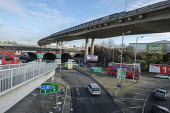North Circular Road flyover, Brent Cross, London - Philip Wolmuth - 03-12-2019