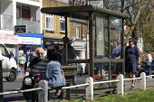 Coronavirus pandemic, People enjoying the sunshine, causing social distancing problems, Barnes, London - Duncan Phillips - 05-04-2020