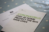 Coronavirus Pandemic, Stay At Home, Protect the NHS, Save Lives. Department of Health and Social Care information leaflet on what to do to help stop the spread of coronavirus, including information on... - John Harris - 16-04-2020