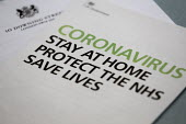 Coronavirus Pandemic, Stay At Home, Protect the NHS, Save Lives. Department of Health and Social Care information leaflet on what to do to help stop the spread of coronavirus, including information on... - John Harris - 2020,2020s,coronavirus,covid-19,delivered,DELIVERIES,DELIVERING,DELIVERY,Department,disease,DISEASES,epidemic,government,HEA,Health,help,HELPING,HELPS,Home,information,informative,leaflet,leaflets,loc