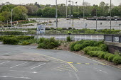 Coronavirus pandemic. Empty car park, Brent Cross Shopping Centre, London - Philip Wolmuth - 16-04-2020