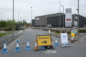 Coronavirus pandemic. Empty car park, Brent Cross Shopping Centre, London - Philip Wolmuth - Economy, Health,2020,2020s,AUTO,AUTOMOBILE,AUTOMOBILES,bought,buying,car,CARS,cities,City,close,closed,closing,closure,closures,coronavirus,Covid-19,crisis,customer,customers,disease,DISEASES,EBF,econ