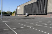 Coronavirus pandemic. Empty car park, Brent Cross Shopping Centre, London - Philip Wolmuth - 19-04-2020