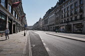 Coronavirus Pandemic. Empty Streets and closed shops, Regent Street, London - Duncan Phillips - 22-04-2020