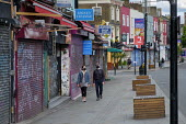 Covid-19 pandemic. Closed shops and businesses on Camden Hight Street during coronavirus lockdown. - Philip Wolmuth - 2020,2020s,bought,buying,cities,City,Closed,closing,closure,closures,coronavirus,covid-19,customer,customers,disease,DISEASES,DOWNTURN,EBF,Economic,economic crisis,economy,epidemic,face mask,face mask