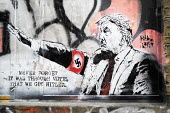 Anti Donald Trump stencil, East London - Jess Hurd - 2020,2020s,ACE,against,Anti,art,arts,artwork,artworks,cities,City,coronavirus,covid-19,culture,disease,DISEASES,Donald Trump,East London,epidemic,FACISM,FACIST,Far Right,Far Right,fascism,Fascist,Fasc