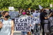 Detroit, Michigan USA Protest against Police brutality, racism and the Police killing of George Floyd in Minneapolis - Jim West - 29-05-2020