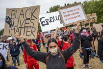 Black Lives Matter protest Hyde Park London