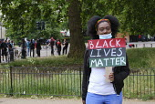 Black Lives Matter protest in solidarity with George Floyd protests, London - Duncan Phillips - 03-06-2020