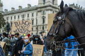 Black Lives Matter protest, Parliament Square, Westminster, London - Jess Hurd - 06-06-2020