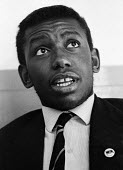 Dillibe Onyeama aged 18, London 1969. Nigerian writer and first black African student to to complete his studies at Eton School, He wrote a book Nigger At Eton about the racism he experienced at the s... - Bente Fasmer - 26-10-1969