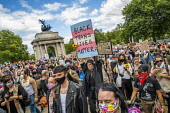 Black Trans Lives Matter protest, Wellington Arch, London - Jess Hurd - 27-06-2020