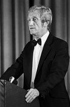 Professor Alan Walters speaking, London 1981, economic adviser to Margaret Thatcher - Martin Mayer - 06-10-1981